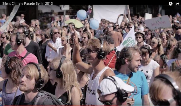 excellent 6 min. video of 350 dot org, Silent Climate zparade,Berlin, Germany 2013, captures the essencr