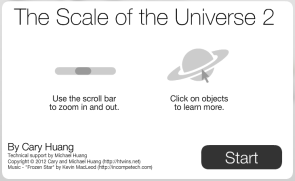 Scalable Universe by Cary Huang htwins