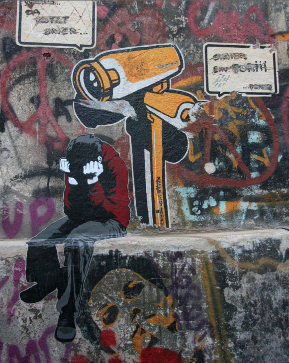 Alias kid head in hands and woman beneath featured by AndBerlin