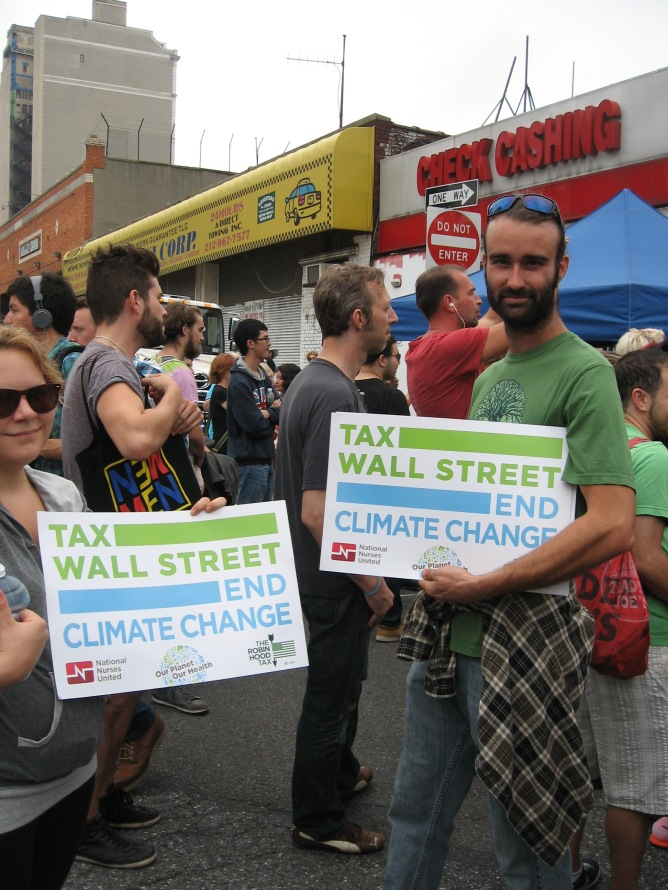 Tax Wall Street End Climate Change