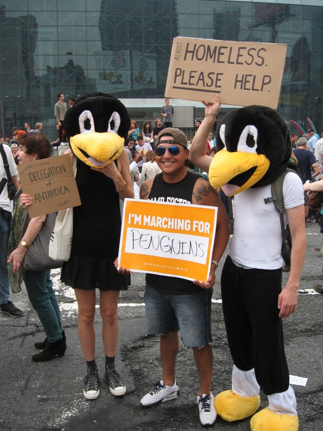 March for the Penquins