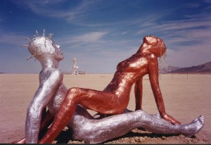 the lovers, Burningman