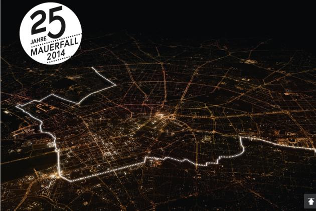 Berlin Wall Falling, falling of Berlin Wall, 25th anniversary falling of Berlin Wall