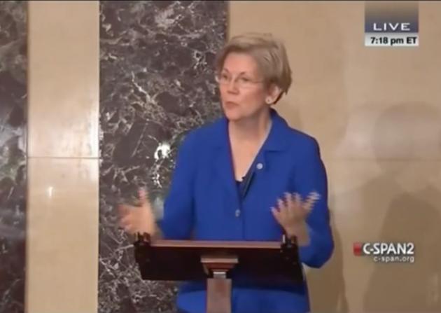 Elizabeth Warren, D-Massachusetts, U.S. Senate,exposing Citigroup