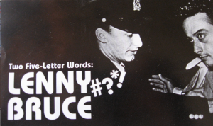 MTR, Museum of Television and Radio, five-letter, Lenny Bruce