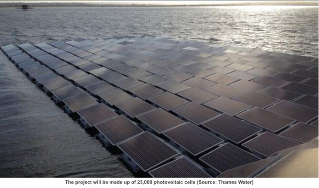 23,000 solar photovoltaic (PV), Walton-on-Thames