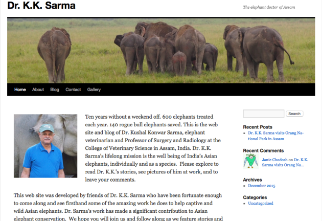 Dr. Kushal Konwar Sarma The, Elephant Doctor of Assam