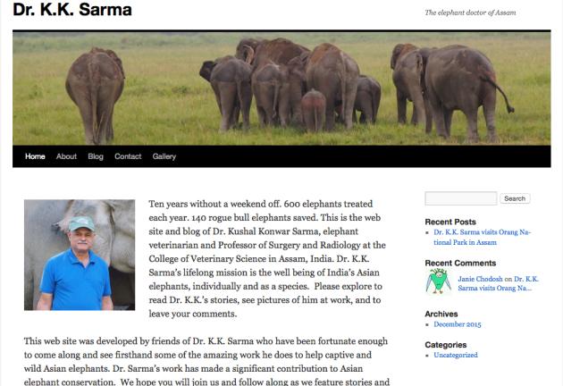 Dr. Kushal Konwar Sarma The, Elephant Doctor of Assam