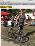 Carol Keiter, Berlin on Bike, writer, blogger, musician, composer
