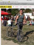 Carol Keiter, Berlin on Bike, writer, blogger, musician, composer