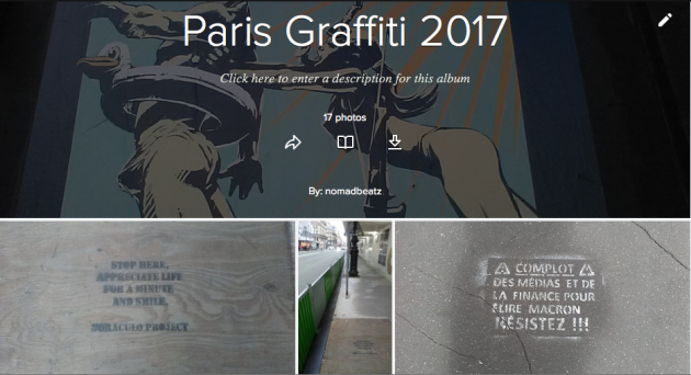 Paris Graffiti, le Point Éphémère,Juillet 2017