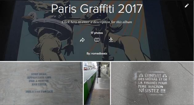Paris Graffiti, le Point Éphémère,Juillet 2017