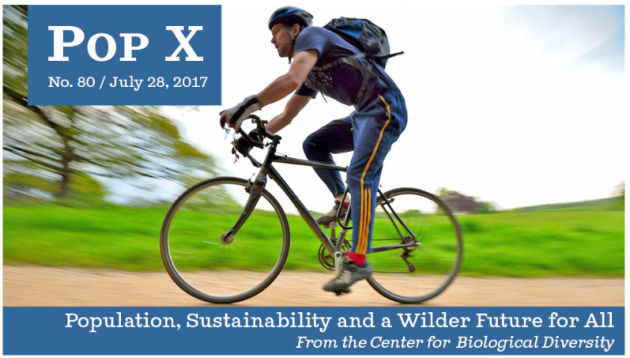 Population, Sustainability, Wilder Future, Center for Biological Diversity