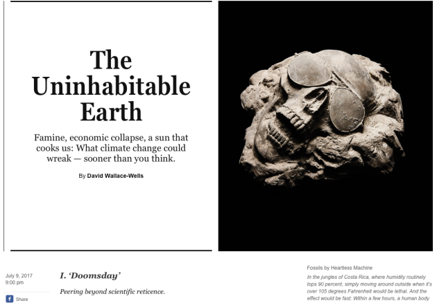 The Uninhabitable Earth, David Wallace-Wells