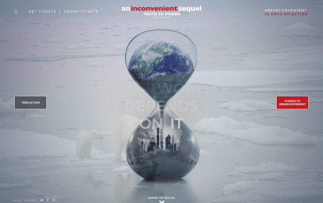 Inconvenient Truth, An Inconvenient Sequel, Al Gore