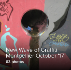 New Wave of Graffiti, Montpellier, France