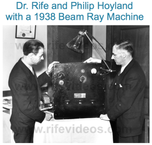 Dr. Royal Rife's Beam Ray Machine