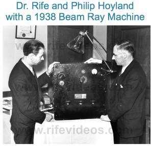 Dr. Royal Rife's Beam Ray Machine