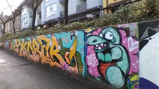 Freiburg, Germany graffiti