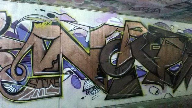 Freiburg, Germany fantastic graffiti