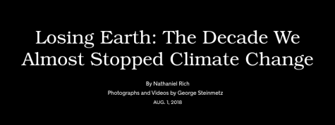 Losing Earth The Decade We Almost Stopped Climate Change