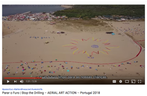 Parar o Furo, Stop the drilling, Portugal 2018