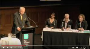 Philip Wollen, speech, Crimes of Humans, Animals off Menu