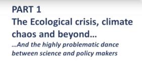 Ecological crisis, climate chaos