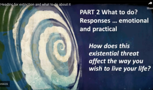 What to do, Emotional responses, Practical Responses