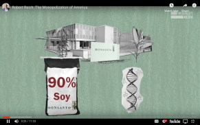 Robert Reich Monopolization of America Monsanto Owns Genetics