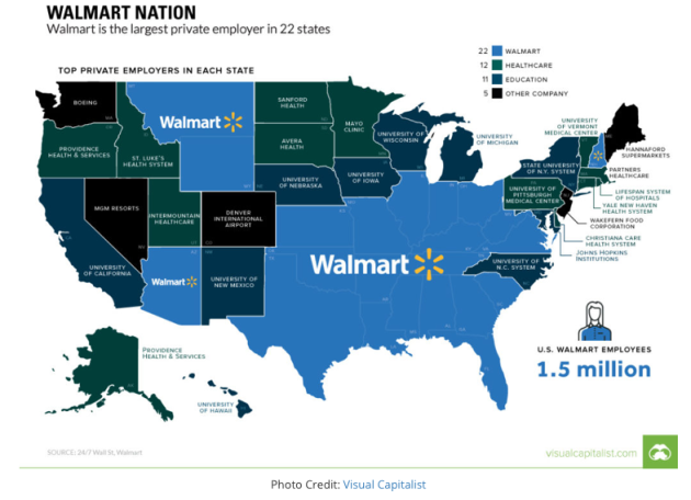 USA, business, Walmart Nation, Health Care, Boeing