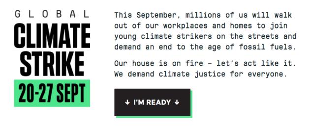 Global Climate Strike 20-27 Sept