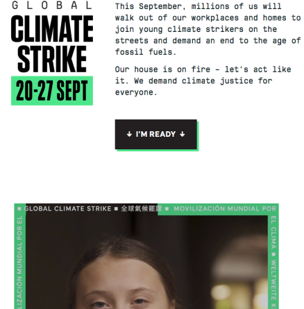 greta_thunberg, global climate strike, climate strike Sept 20-27