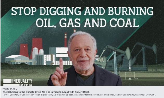 The Solutions to the Climate Crisis No One is Talking About with Robert Reich
